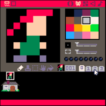 The sprite sheet used in this example.
