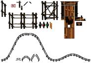 DKC2 - Rollercoaster