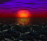 DKC2 - Sunset