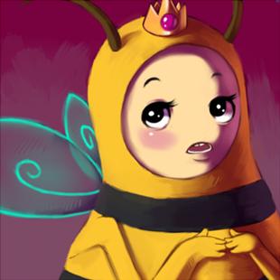 310px-Bee princess by sirrailgun-d3200p8