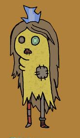 Adventure time raggedy princess by kylievil-d55xt5w