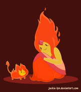Flame Princess with Flambo