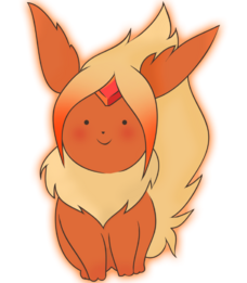 Flame princess flareon by youthcat-d5c8fy