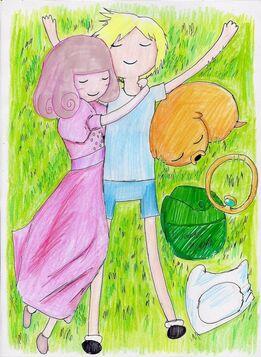 1 adventure time green grass by hewhowalksdeath-d48szz9