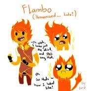 Kinda humanized flambo by epiclorraine-d4pwole