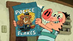 Police Flakes