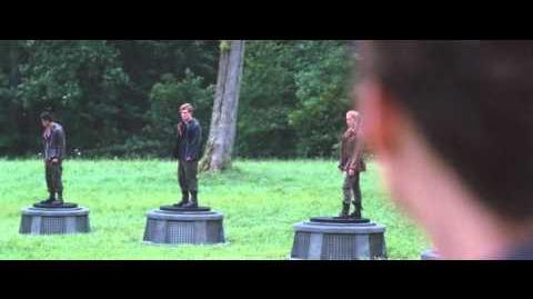 The Hunger Games - Cornucopia Bloodbath scene HD