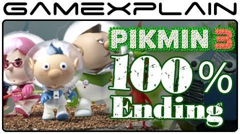 Pikmin 3 100% Best Ending (Spoilers! - Japanese Ver