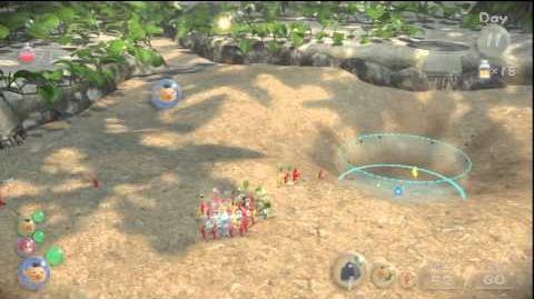 Pikmin 3 Boss Sandbelching Meerslug