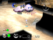 Pikmin 2 Ranging Bloyster Attack