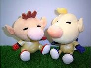 Olimar and Louie plushies