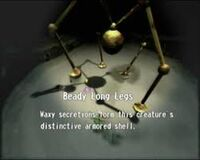 Beady Long Legs enemy reel