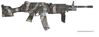 K-637 Winter Automatic Rifle