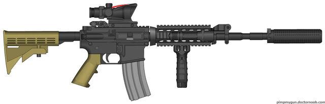 File:M4 Custom-Snake's M4.jpg