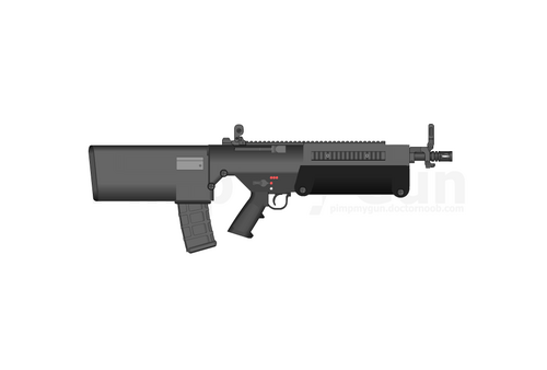 MWWC Bullpup Rifle 1