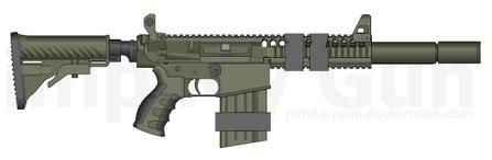 MMR Stealth Rifle