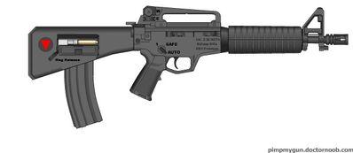 Bullpup AR-15