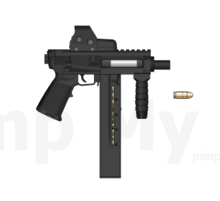 MAP with ammo .45ACP