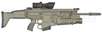 SCAR-L Grenader