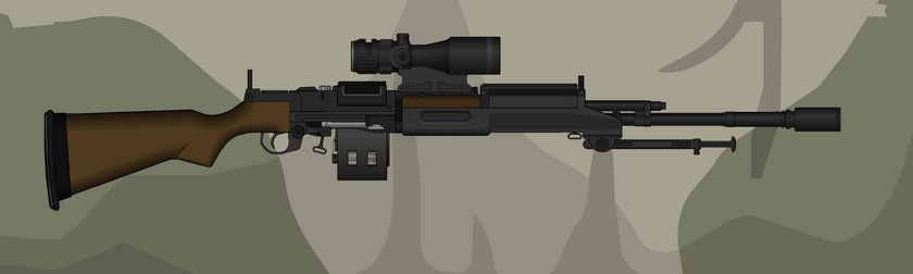 IM14 Inverted Support Rifle