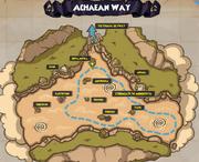 (Map) Achaean Way
