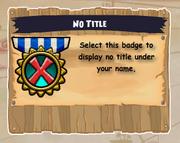 Badge-No Title