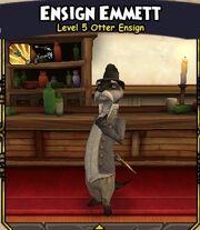 Ensign Emmett