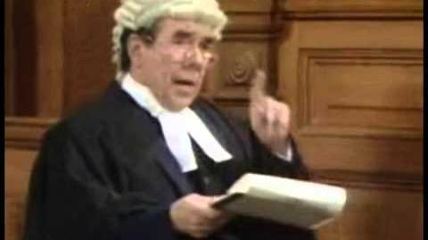 Two Ronnies - Courtroom Game Shows