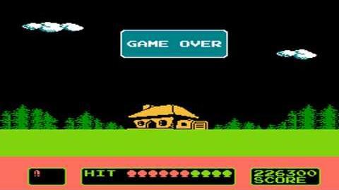 Super Shoot (Duck Hunt Hack) (NES) Gameplay
