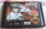 Fido Dido SEGA Genesis Pirated Cart