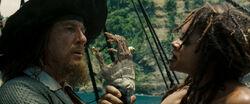 Barbossa and Tia Dalma AWE