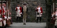 James Norrington's promotion ceremony