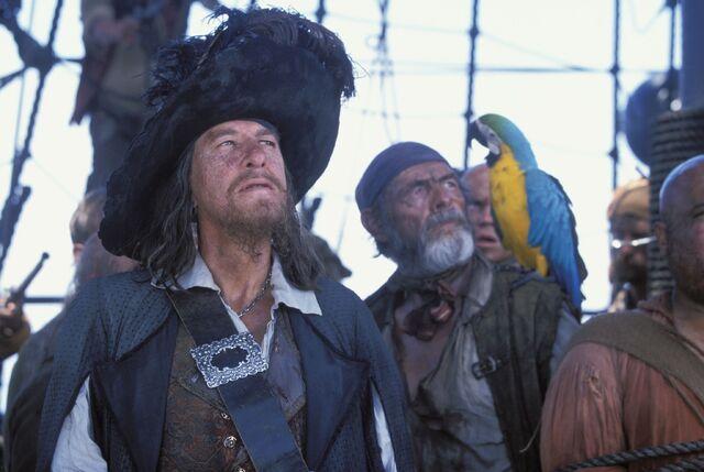 File:Captain Barbossa on the Black Pearl.jpg