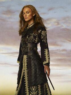 Elizabeth Swann Pirate King