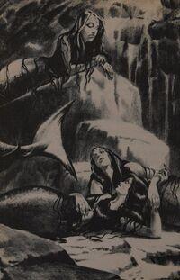 Morveren, Aquila, and Aquala