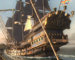British galleon