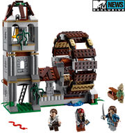 Legopirates mill