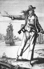 Female pirate Anne Bonny