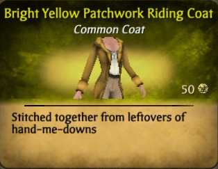 File:Bright Yellow Patchwork Riding Coat.jpg