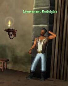 F Lieutenant Rodolphe
