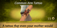 Mother's Day Sparrows Arm Tattoo