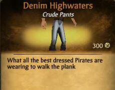 Denin Highwaters