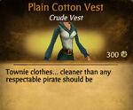 F Cotton Vest variations