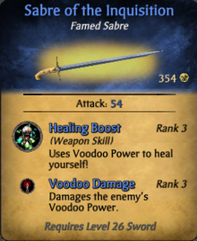 Sabre of the Inquisition - clearer