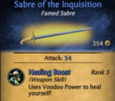 Sabre of the Inquisition