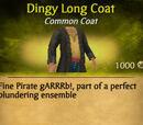 Dingy Long Coat