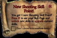 Scroll NewPistolSkillPoint