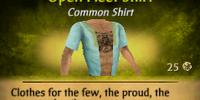Open Fleet Shirt