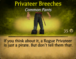 Privateer Breeches