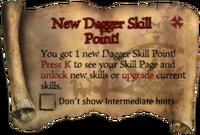 Scroll NewDaggerSkillPoint